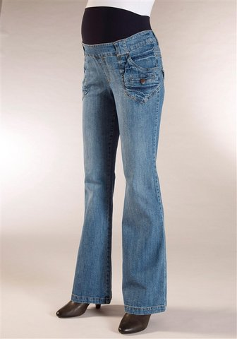 Umstandsjeans Blue Boot Cut